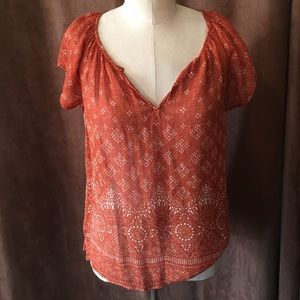 Joie Blouse size small